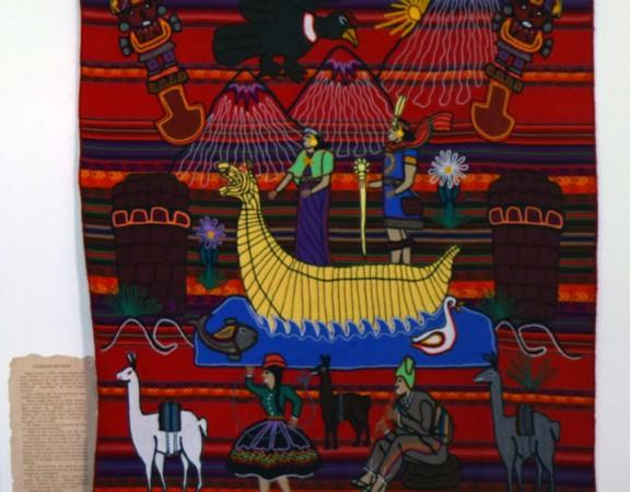 la creacion del mundo Amayrá - El Mercedario